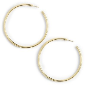 Argentovivo Women's Large Hoop Earrings