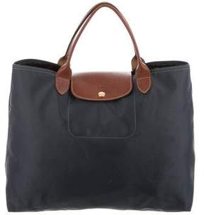 Longchamp Medium Le Pliage Handle Bag - BLUE - STYLE