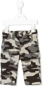 Il Gufo camouflage shorts