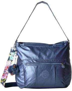 Kipling Carley Bags - METALLIC SCUBA DIVER BLUE - STYLE
