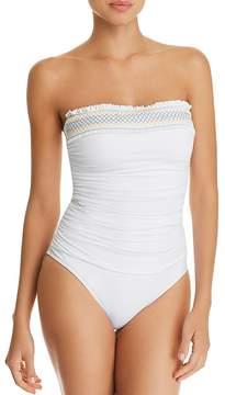 Bleu Rod Beattie Smock It to Ya Strapless One Piece Swimsuit