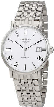 Longines Flagship Automatic Black Dial Stainless Steel Automatic Men's Watch