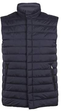 Herno Men's Pc0054u192889201 Blue Polyamide Vest.