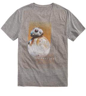 Hybrid Men's BB8 Fade Star Wars Graphic-Print T-Shirt