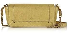 Jerome Dreyfuss Women's Gold Leather Shoulder Bag.