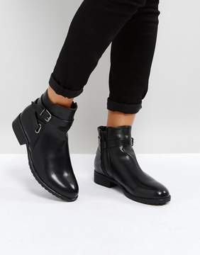 Park Lane Wrap Buckle Flat Boot
