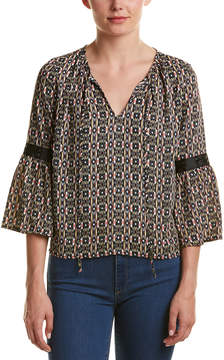 Collective Concepts Bell-Sleeve Top