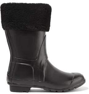 Australia Luxe Collective Dukes Shearling-Trimmed Rubber Rain Boots