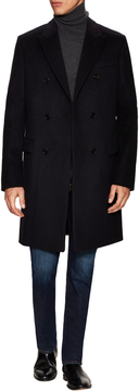 Christian Dior Men's Buttoned Solid Coat