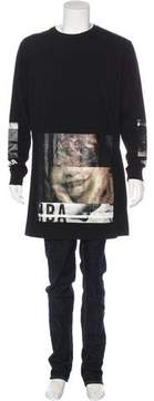 Hood by Air Graphic Print Long Sleeve T-Shirt
