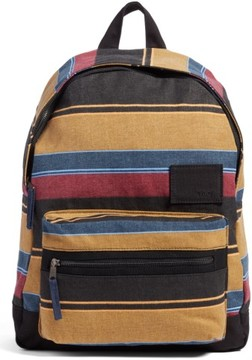 Rvca Tides Stripe Backpack - Yellow