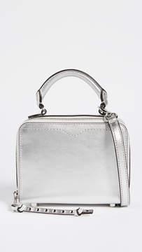 Rebecca Minkoff Box Cross Body Bag - SILVER - STYLE