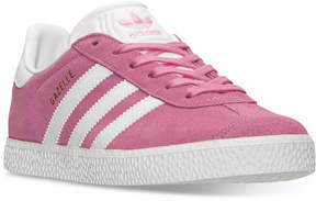 adidas Girls' Gazelle Casual Sneakers from Finish Line