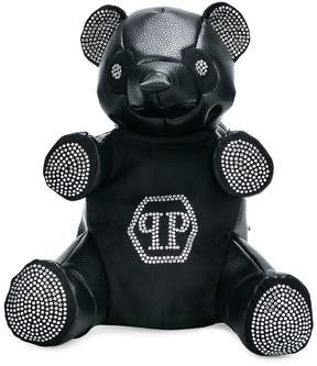Philipp Plein Junior Teen embellished teddy bear backpack