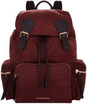 Burberry Large Technical Backpack - RED - STYLE