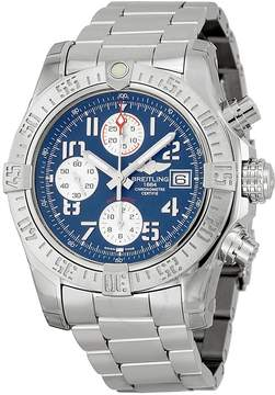 Breitling Avenger II Automatic Chronograph Blue Dial Men's Watch A1338111/C870SS