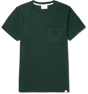 Norse Projects Niels Waffle-Knit Cotton-Jersey T-Shirt