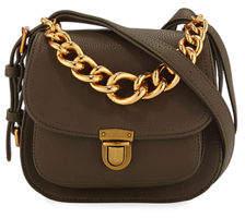 Neiman Marcus Chain Handle Messenger Bag