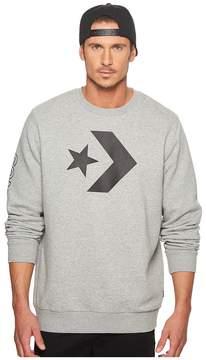 Converse Star Chevron Graphic Crew Men's Sweatshirt