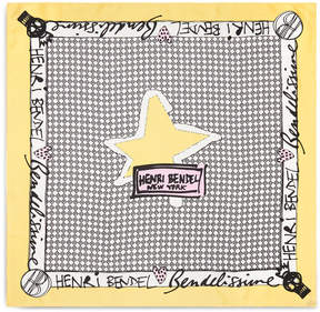 Henri Bendel Superstar Silk Scarf