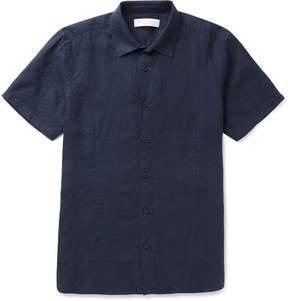 Orlebar Brown Meden Slim-Fit Slub Linen Shirt