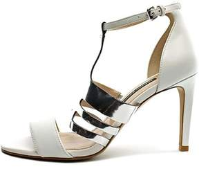 French Connection Womens Lia Leather Open Toe Ankle Strap D-orsay Pumps.