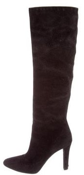 Ralph Lauren Collection Suede Knee-High Boots