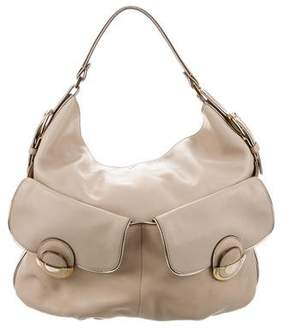 Anya Hindmarch Grained Leather Hobo