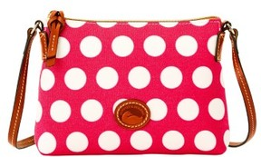 Dooney & Bourke Saybrook Crossbody Pouchette Shoulder Bag - HOT PINK - STYLE