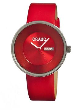 Crayo Button Collection CR0206 Unisex Watch