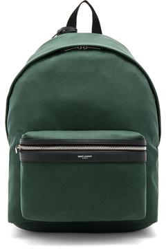Saint Laurent Backpack in Green.