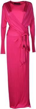 Alexandre Vauthier Alexander Vauthier Side Split Wrap-front Evening Dress