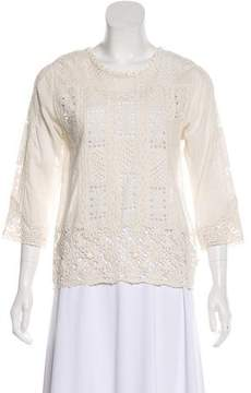 Lightweight Lace Blouse