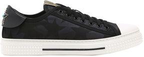 Valentino All Rock Camustars Nylon Sneakers