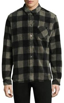 IRO Checkered Button-Down Shirt