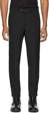 Diesel Black Gold Black Side Detail Trousers