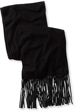L.L. Bean Signature Wool/Cashmere Fringe Scarf