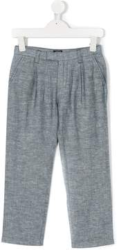 Emporio Armani Kids straight leg trousers