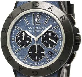 Bulgari Diagono Chronographe ceramic watch