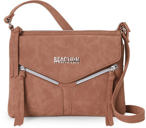 Kenneth Cole Reaction Cognac Columbus Crossbody