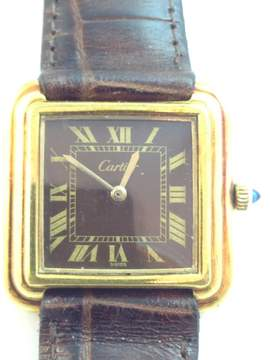 Cartier Vintage 18k Yellow Gold 25mm Watch