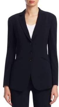 Emporio Armani Cropped Button-Front Jacket