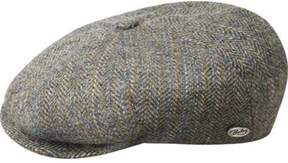 Bailey Of Hollywood Men's Galvin Stripe Herringbone Newsboy Cap 25240A