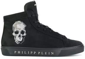 Philipp Plein hi top skull sneakers