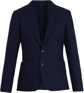 Paul Smith Notch-lapel cotton-waffle jacket