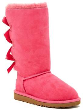 UGG Genuine Sheepskin Bailey Bow Tall Classic Boot (Little Kid & Big Kid)