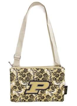 NCAA Purdue Boilermakers Bloom Crossbody Bag