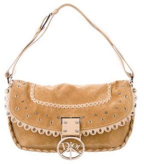Christian Dior Embellished Peace Hobo