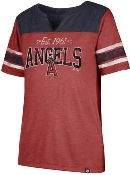 '47 Women's Los Angeles Angels of Anaheim Match Tri-Blend Tee