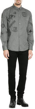 Golden Goose Deluxe Brand Button-Down Shirt with Patches